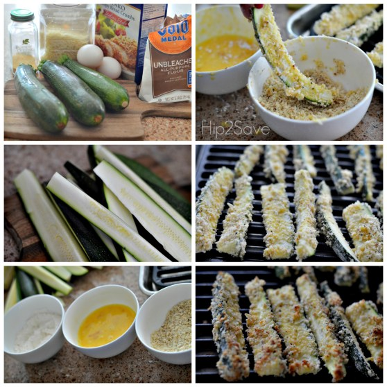 How to make baked zucchini fries hip2save