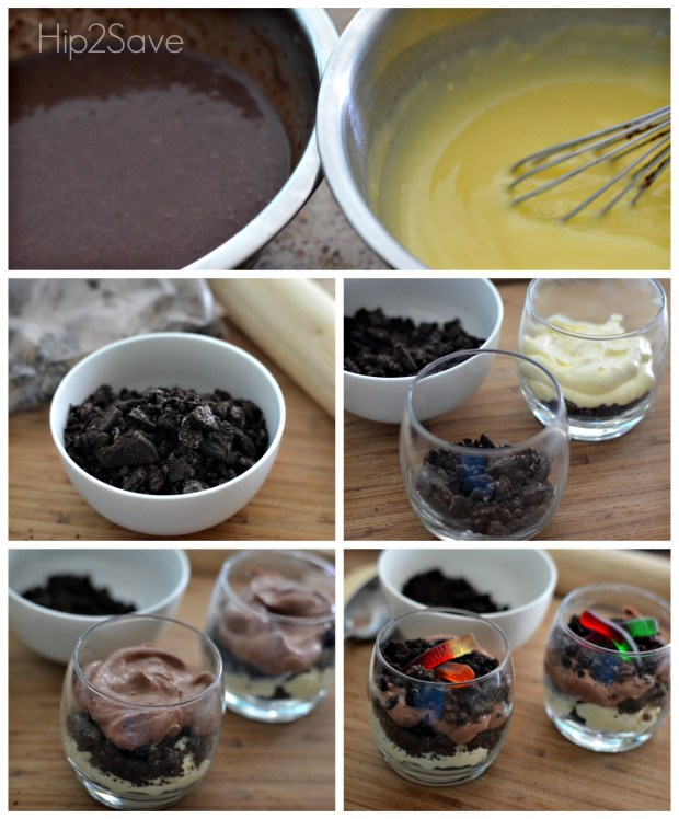 Oreo & Pudding Dirt Cups Hip2Save