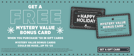 2015 Holiday Restaurant Amp Retail Gift Card Promotions