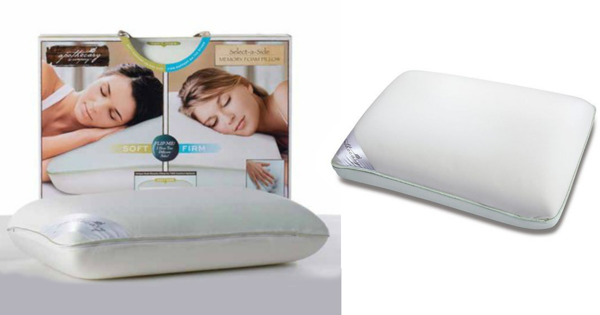 apothecary memory foam pillow only