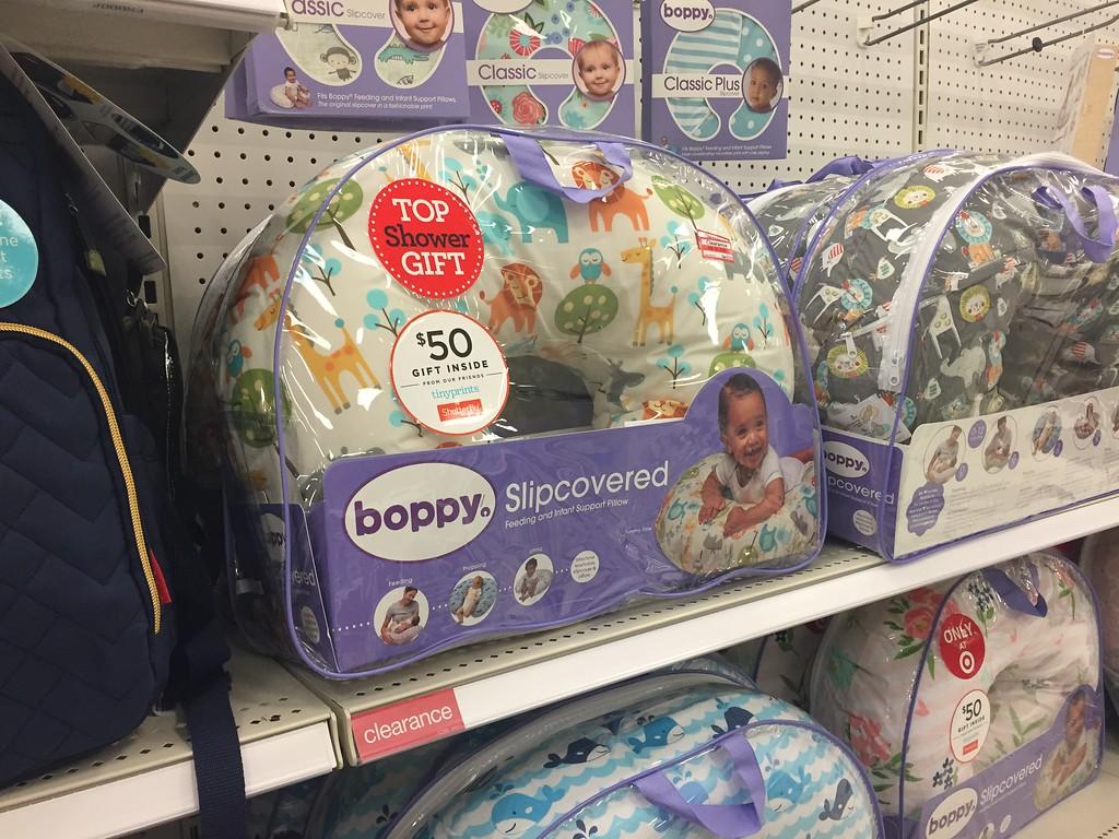 boppy slipcovered infant support pillow