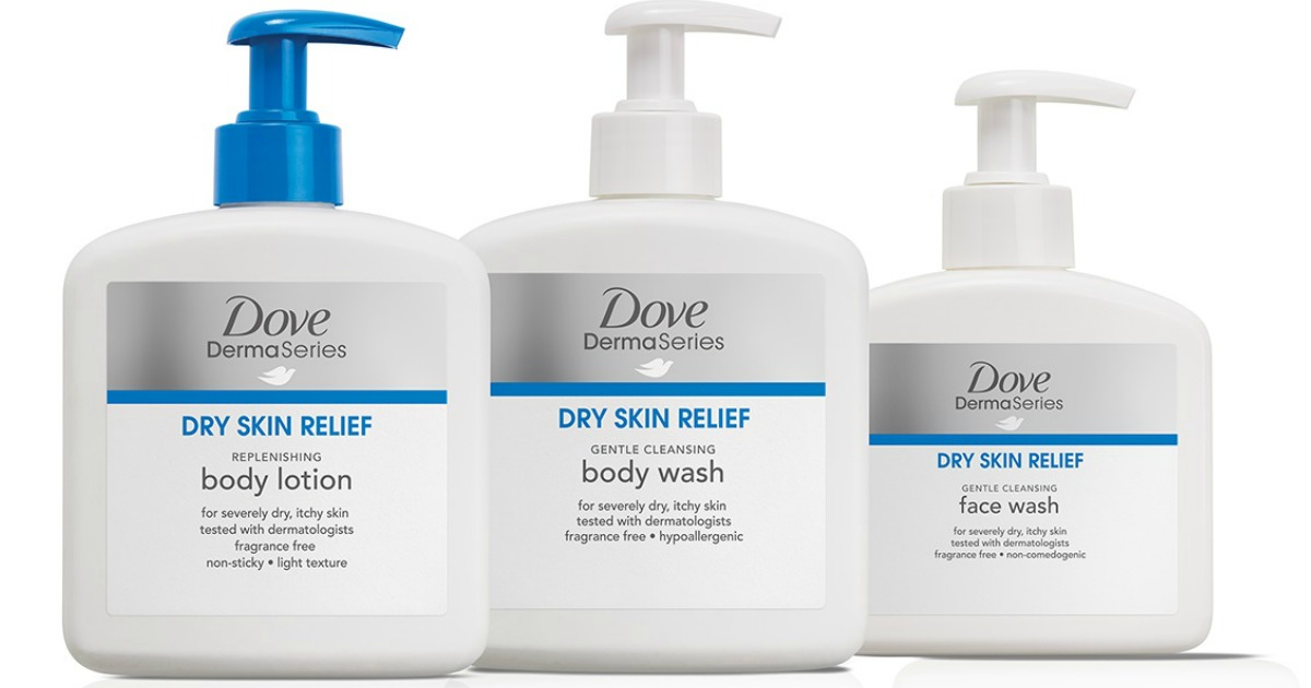 Dove Care Skin Products