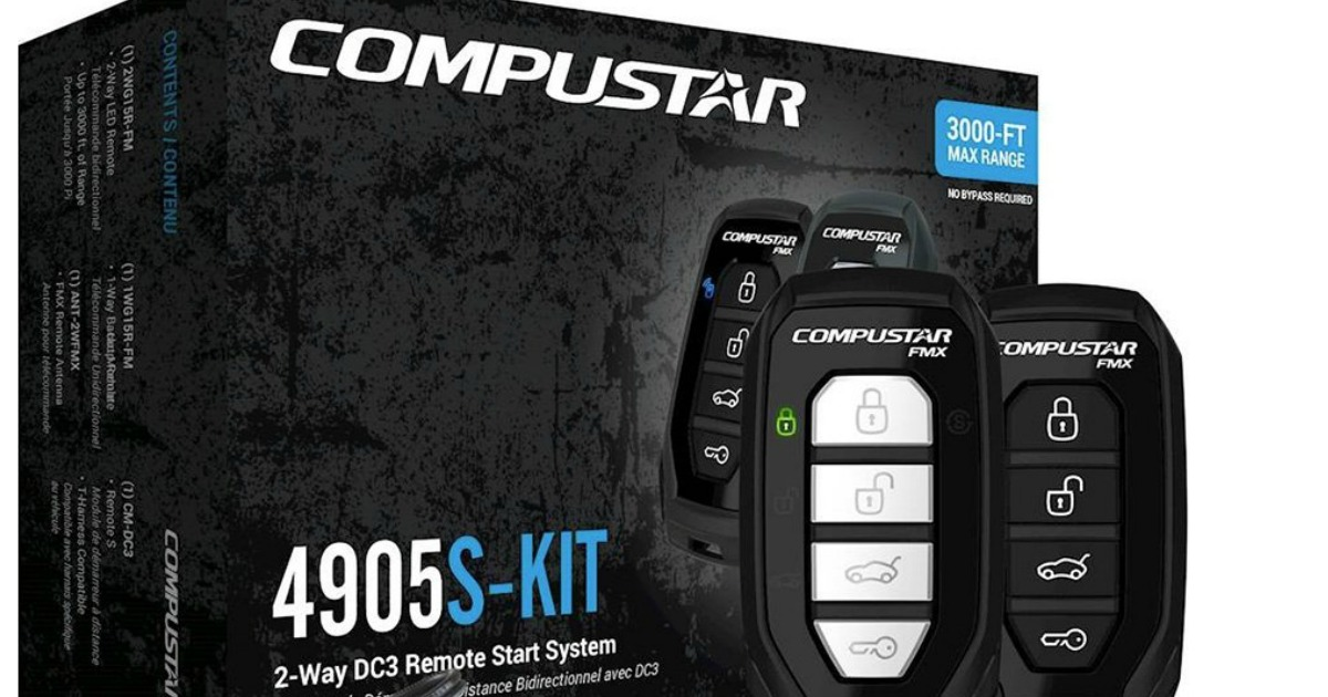 Compustar 2 Way Remote Car Start System Amp Installation