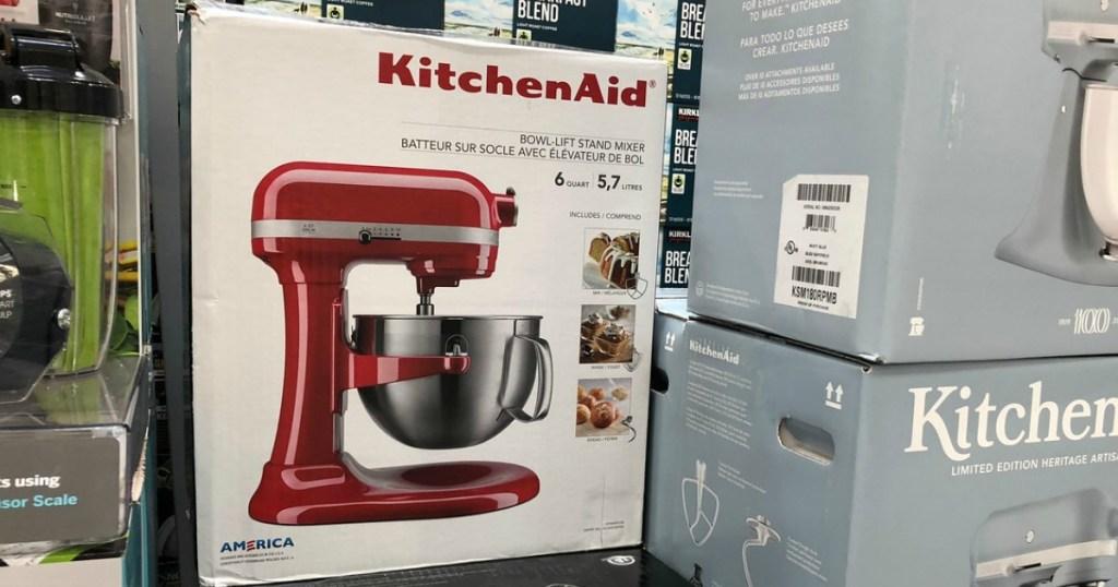 amazon kitchenaid 6 quart bowl lift stand mixer just 209 shipped today only