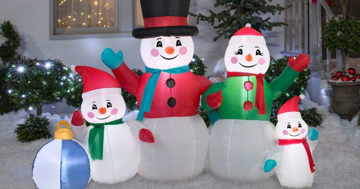 Home Depot: Up To 50% Off Christmas Inflatables