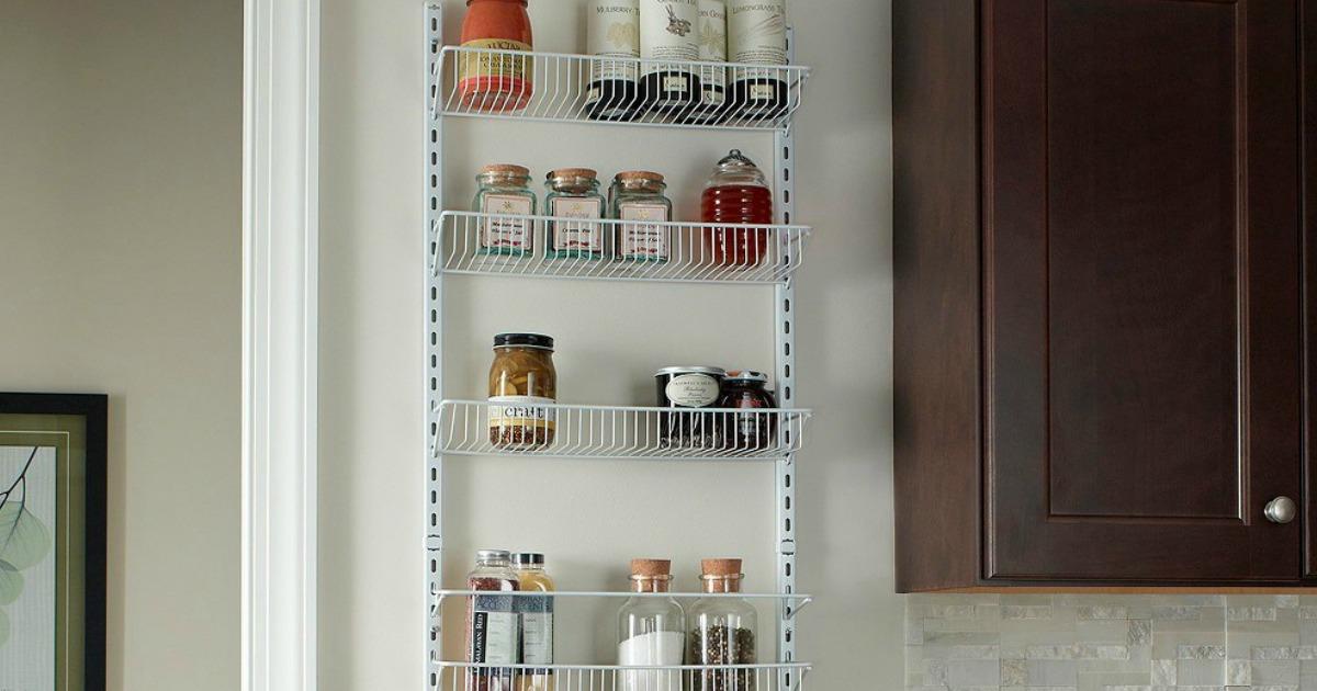 closetmaid adjustable 8 tier wall