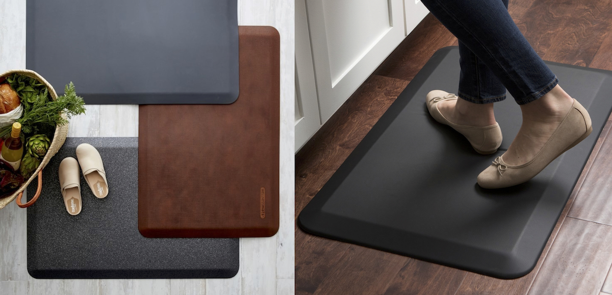 williams sonoma home copycat budget – kitchen mat comparison side by side