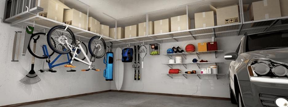 amazon ceiling mounted garage storage
