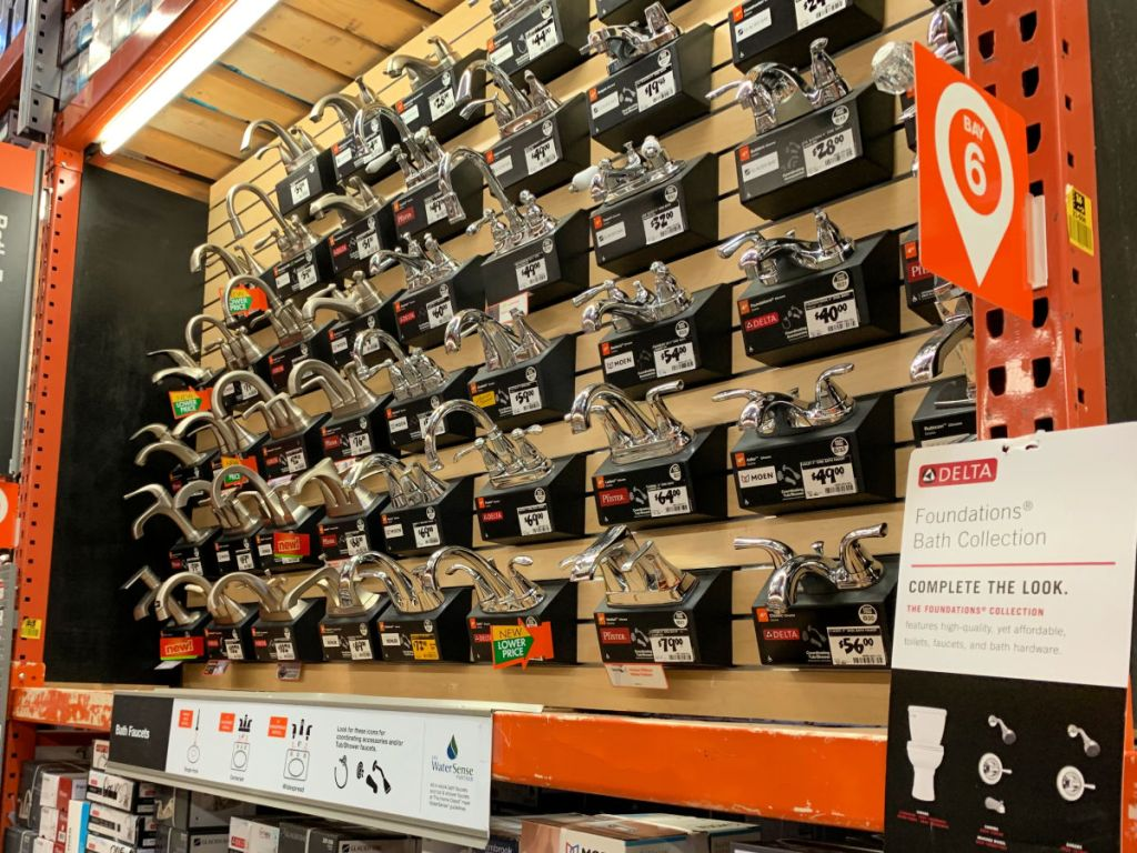 up to 70 off kitchen faucets at home depot