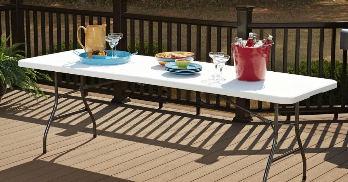 6 folding table just 29 99 shipped at