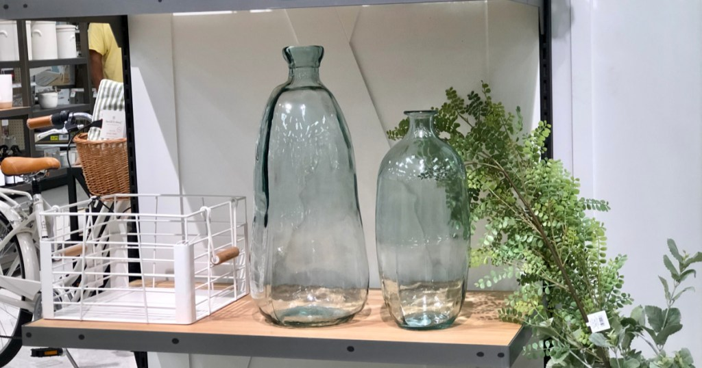 hearth & hand with magnolia glass vases at target