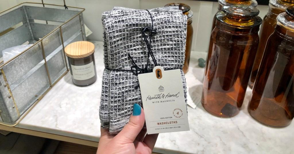 hearth & hand washcloths target