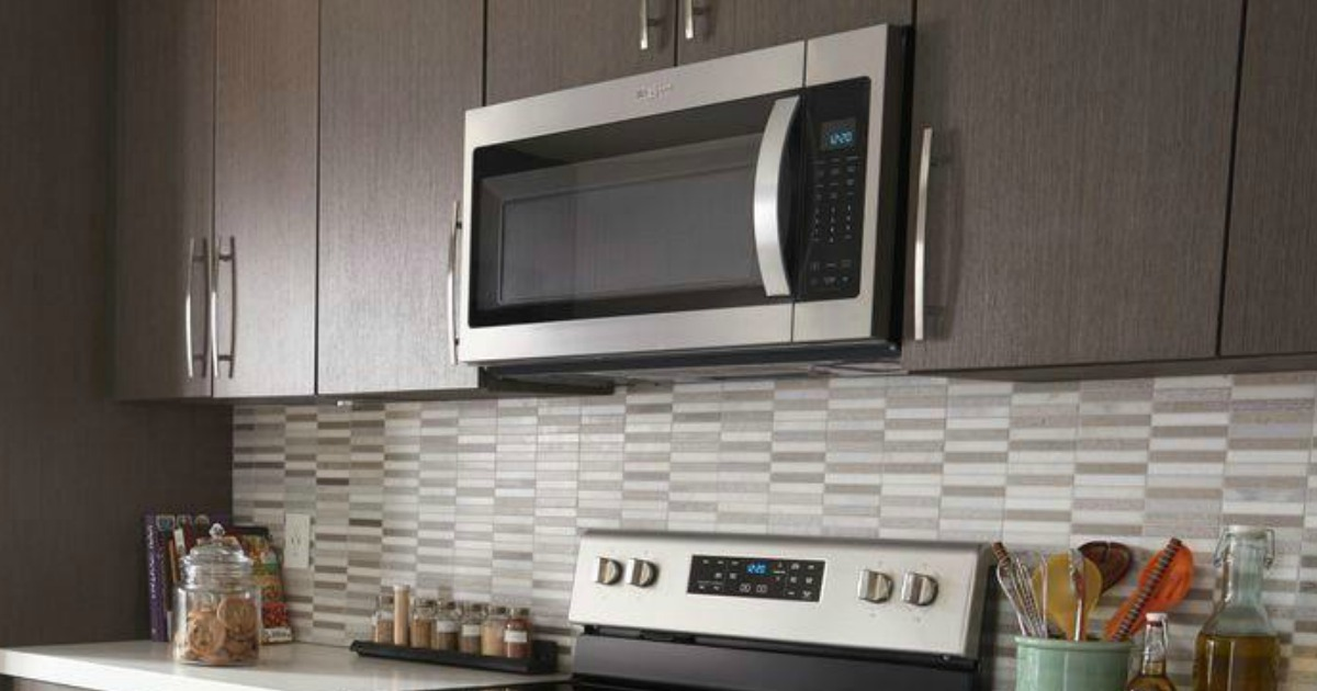 stainless steel microwave just 129 99
