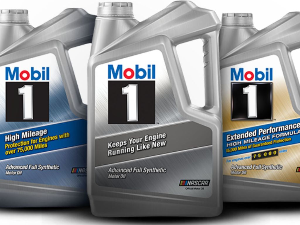 Mobil 1 Synthetic 5 Quart Motor Oil Only $7.98 After ...