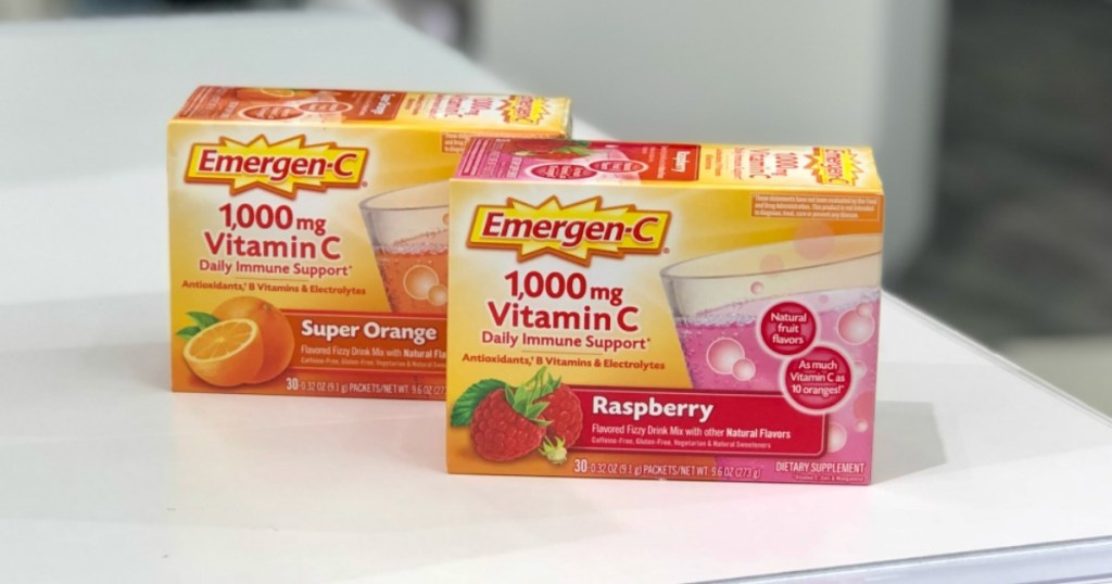 New 2 1 Emergen C Coupon 50 Off Drink Mixes After Target