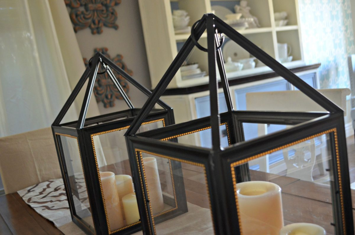 turn dollar store frames into a trendy