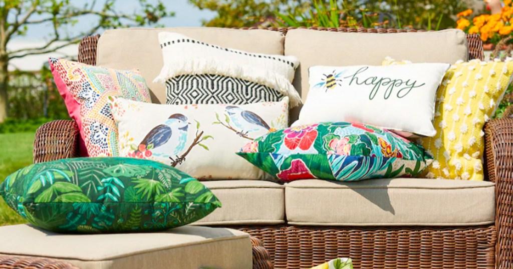 sonoma outdoor throw pillows as low as