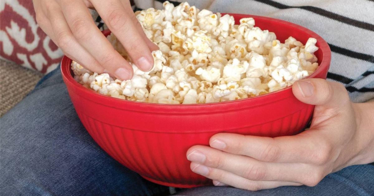 microwave popcorn popper only 6 49 on