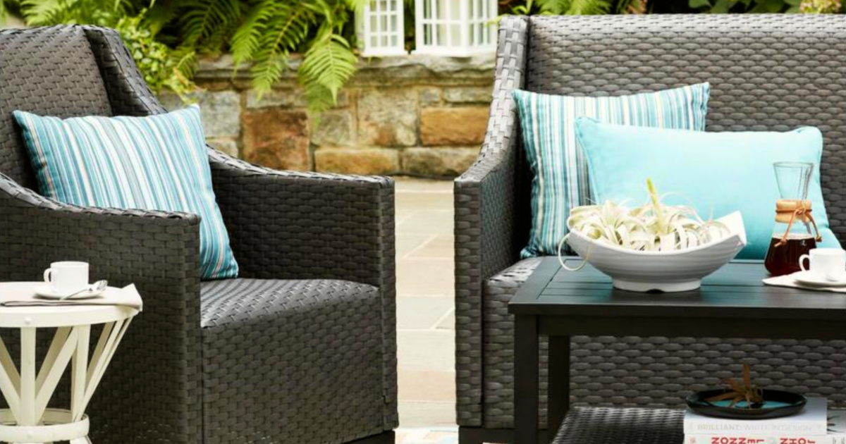500 off wicker patio set at home depot