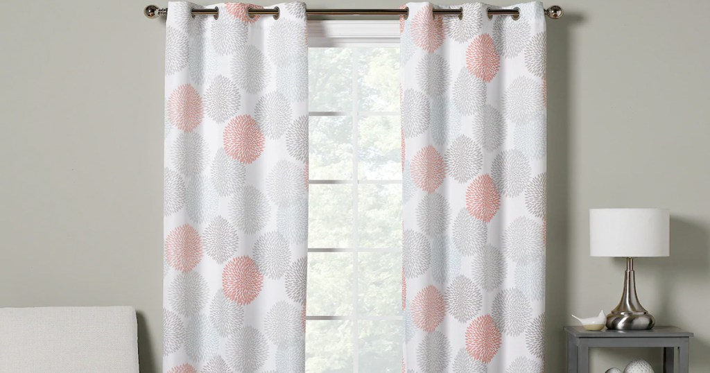 the big one window curtain 2 packs from