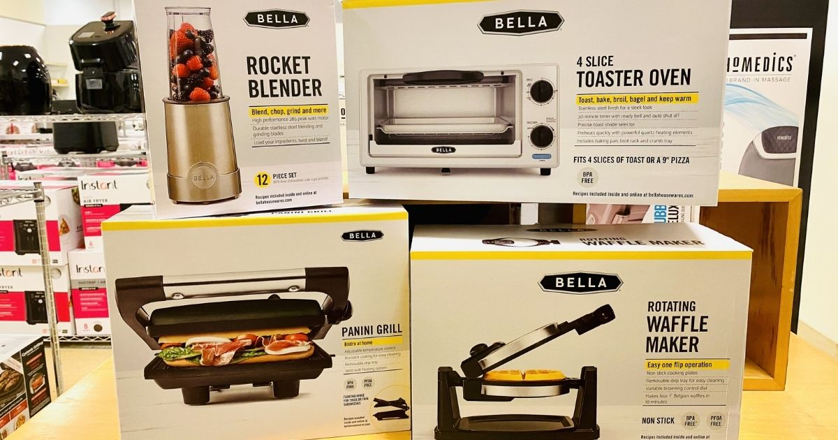 bella small kitchen appliances only 7