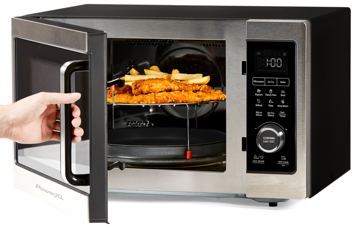 powerxl microwave air fryer only 169