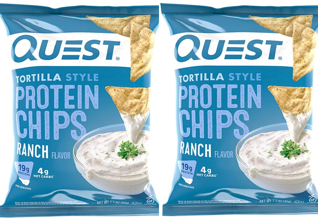 two quest ranch tortilla chips
