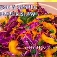 Fresh & Simple Summer Slaw