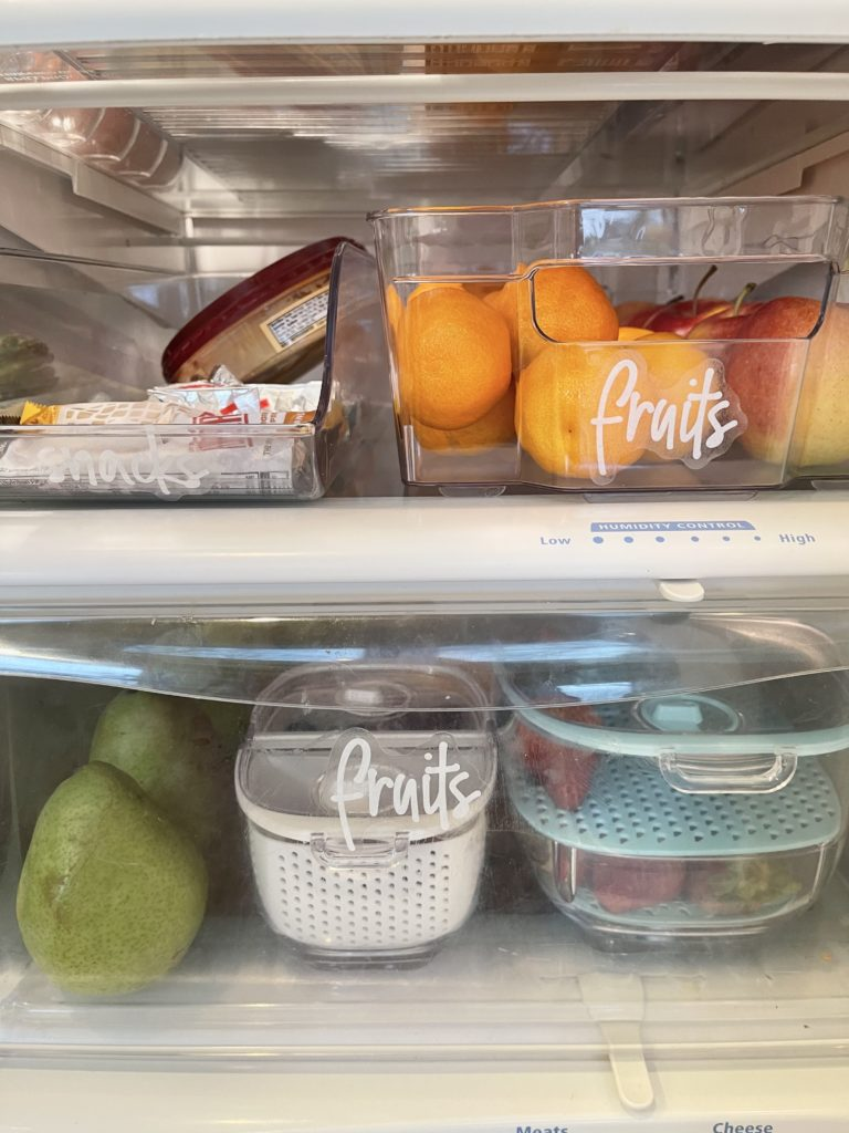 Tips On Organizing The Fridge