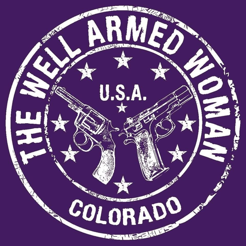 well aremed woman logo
