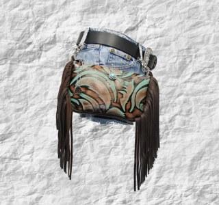 Side Fringe Hip Bags