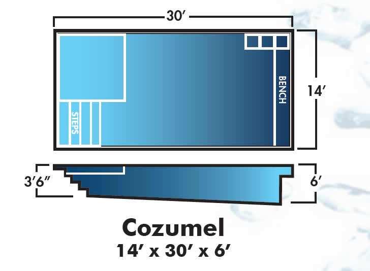 Dolphin Fiberglass Pools Cozumel