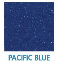 Pacific Blue fiberglass pool