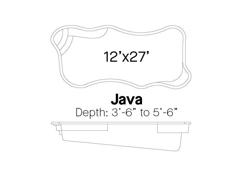 Latham Fiberglass Pools Java info