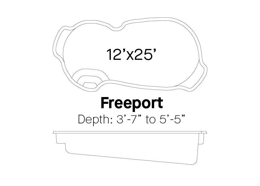 Latham Fiberglass Pools Freeport Info