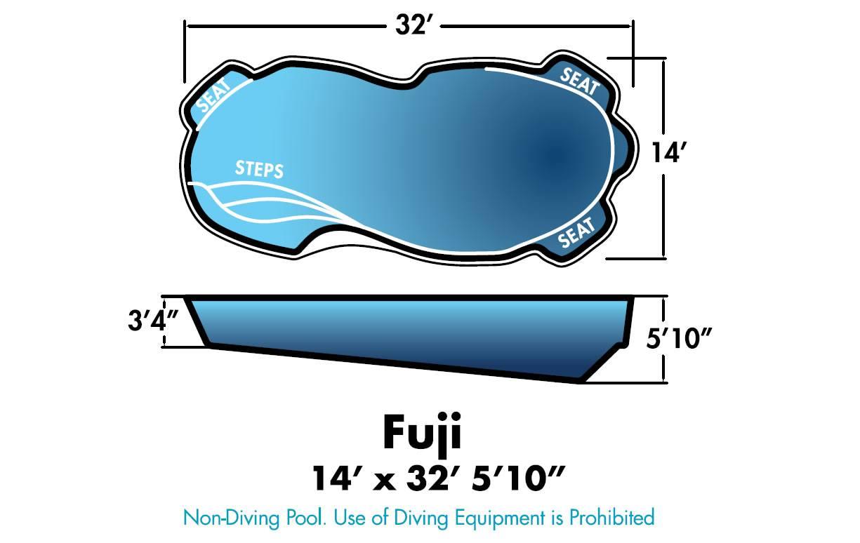 Fuji Fiberglass Pool