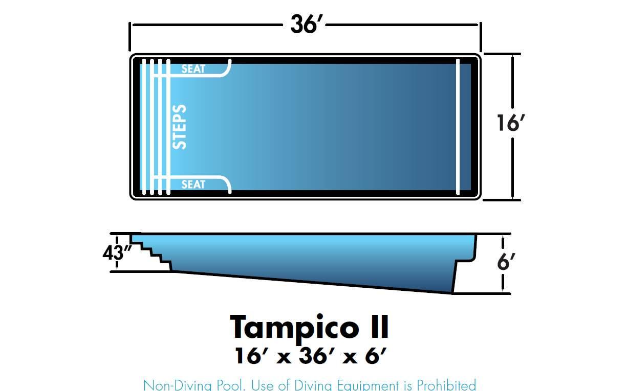 Dolphin Fiberglass Pools Tampico 2