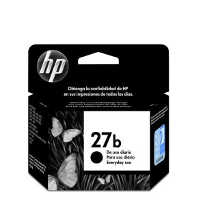 Cartucho HP 27b 8727BB Preto