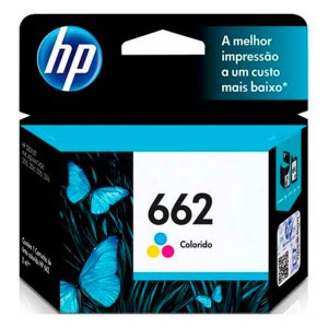 Cartucho HP 662 CZ104AB Color 2ML