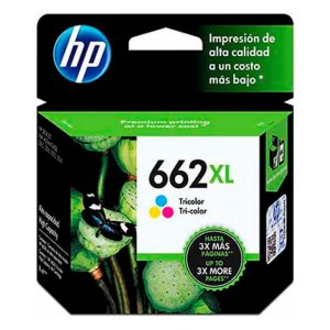 Cartucho HP 662XL 662 Color CZ106AB