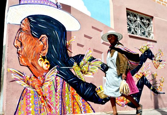 Resultado de imagen para arte urbano bolivia
