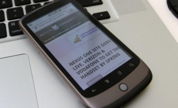 Gracias a un hack Google Nexus One puede grabar a 720p
