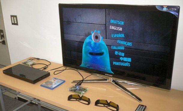 Animon presenta un prototipo para transmitir 3D HD de manera inalámbrica