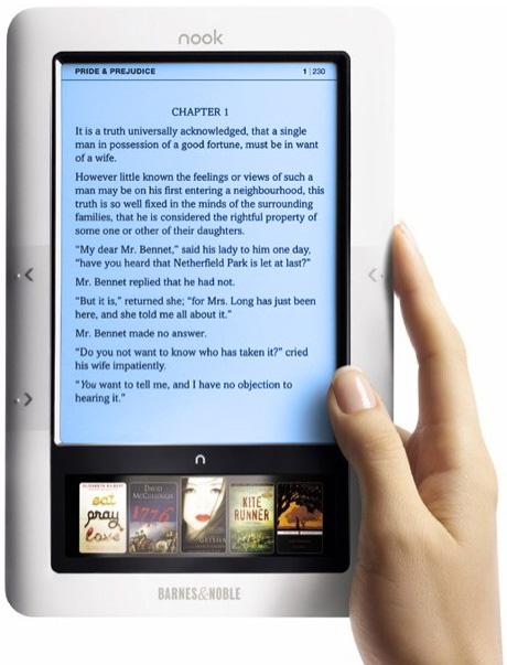 Un nuevo Nook con pantalla a color y Android la semana que viene