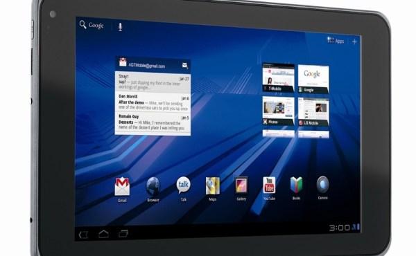 LG G-Slate, llega la tablet de 9 pulgadas con reproducción y grabación 3D