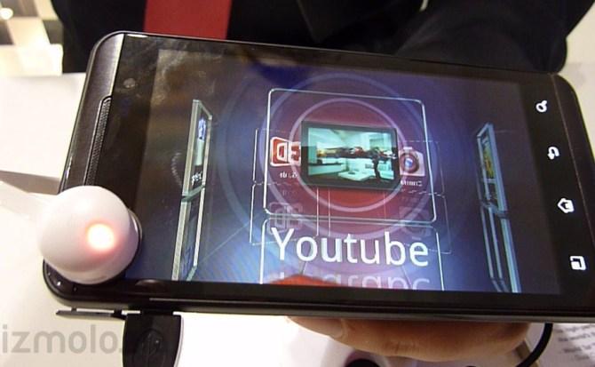 MWC 2011   LG Optimus 3D, smartphone con pantalla 3D sin necesidad de gafas