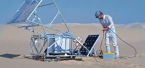 TGIF: Una impresora 3D que usa arena y luz solar para crear objetos sólidos