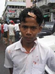 Proestas Birmania