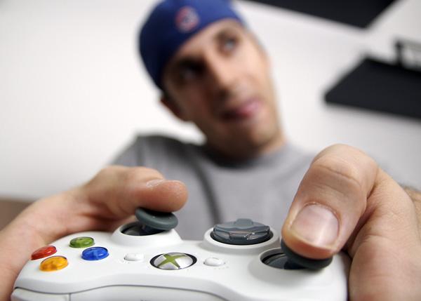 Jugando Xbox 360