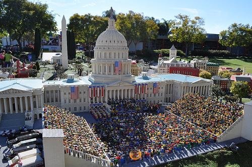 Obama en Legoland
